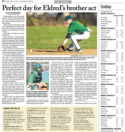 Times Herald-Record/Sports Feature